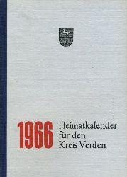 Kienzle, Robert (Hrsg.):  Heimatkalender für den Kreis Verden 1966.