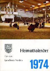 Kienzle, Robert (Hrsg.):  Heimatkalender für den Landkreis Verden 1974.