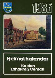 Kienzle, Robert (Hrsg.):  Heimatkalender für den Landkreis Verden 1985.