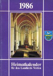 Kienzle, Robert (Hrsg.):  Heimatkalender für den Landkreis Verden 1986.