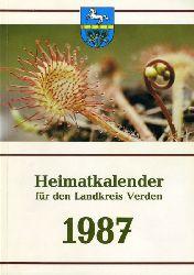 Kienzle, Robert (Hrsg.):  Heimatkalender für den Landkreis Verden 1987.