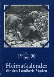 Allerheiligen, Rolf (Hrsg.):  Heimatkalender für den Landkreis Verden 1990.