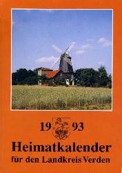 Allerheiligen, Rolf (Hrsg.):  Heimatkalender für den Landkreis Verden 1993.