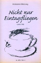 Maiberg, Hermann:  Nicht nur Eintagsfliegen. Gedichte. Edition Fischer
