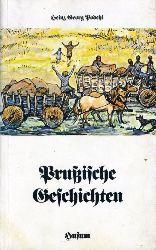 Podehl, Heinz Georg:  Prussische Geschichten. Husum-Taschenbuch.