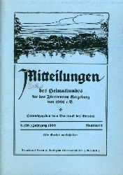Mitteilungen des Heimatbundes für das Fürstentum Ratzeburg. 2. (28.) Jg. (nur) Heft 2.