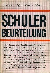 Erlebach, Ernst:  Schülerbeurteilung.