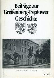 Beiträge zur Greifenberg-Treptower Geschichte 6.