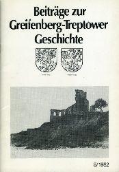 Beiträge zur Greifenberg-Treptower Geschichte 5.