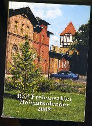 Freienwalder Kreiskalender 46. Heimat zwischen Bruch und Barnim 2002.