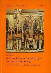 Kirchner, Helmut:  Vom Inselsberg zur Stopfelskuppe bis zum Hermannsberg. Sagen und Geschichten aus dem Kreis Schmalkalden. Sitte und Brauch im Alltagsleben 2.