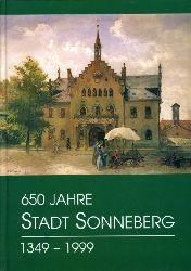 650 Jahre Stadt Sonneberg 1349 - 1999.