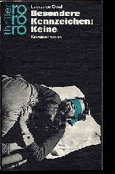 Oriol, Laurence:  Besondere Kennzeichen: Keine. Kriminalroman. rororo 2233.