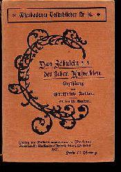 Keller, Gottfried:  Das Fähnlein der sieben Aufrechten. Erzählung. Wiesbadener Volksbücher Nr. 16.