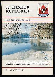 25. Tilsiter Rundbrief aus der Patenstadt Kiel. Ausgabe 1995/96.