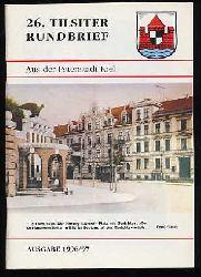 26. Tilsiter Rundbrief aus der Patenstadt Kiel. Ausgabe 1996/97.