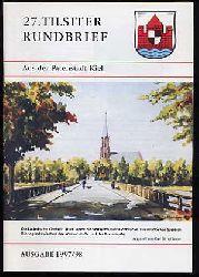 27. Tilsiter Rundbrief aus der Patenstadt Kiel. Ausgabe 1997/98.