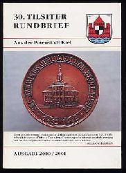 30. Tilsiter Rundbrief aus der Patenstadt Kiel. Ausgabe 2000/2001.