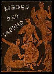 Lieder des Sappho. Münchner Lesebogen. Neue Folge 34.