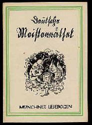 Deutsche Meisterrätsel. Münchner Lesebogen. Neue Folge 76.