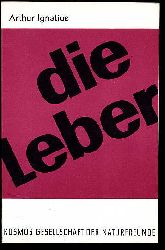 Ignatius, Arthur:  Die Leber. Kosmos. Gesellschaft der Naturfreunde. Die Kosmos Bibliothek 232.