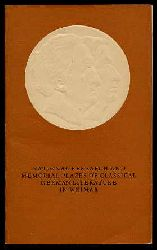 Kiese, Herbert:  National Research and Memorial Places of Classical German Literature in Weimar.