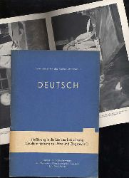 """Höfer, Karl-Heinz:  Deutsch. Einführung in die Literaturbetrachtung, Studienanleitung zu """"Erbe und Gegewart"""" Lehrmaterial für das Fachschulfernstudium."""