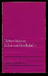 Marcuse, Herbert:  Kultur und Gesellschaft 1. Edition Suhrkamp 101.