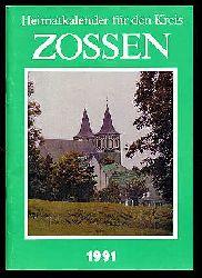 Heimatkalender für den Kreis Zossen. Jg. 34, 1991.