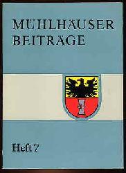 Mühlhäuser Beiträge zu Geschichte, Kulturgeschichte Natur Umwelt H. 7