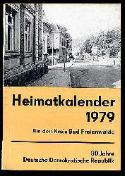 Heimatkalender für den Kreis Bad Freienwalde 23. 1979.