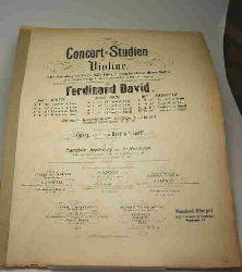 Concert-Studien für die Violine. Heft 3; Kreutzer; Nr.11 18. Concert in Emoll; Nr.12 19. Concert in Dmoll.