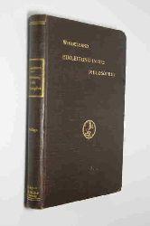 Windelband, Wilhelm  Einleitung in die Philosophie.