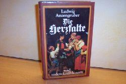 Anzengruber, Ludwig: Die Herzfalte und andere Erzählungen,    Ausgewählte Werke in Einzelausgaben ., Band 1