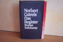 Gstrein, Norbert: Das  Register : Roman Norbert Gstrein