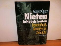Ogger, Günter: Nieten in Nadelstreifen. Deutschlands Manager im Zwielicht. Günter Ogger.