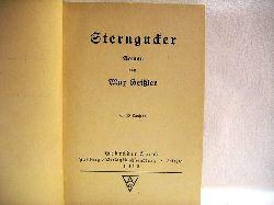 Geißler, M: Sterngucker : Roman von M. Geissler