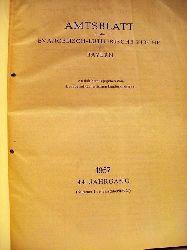 Evangelisch-Lutherischer Landeskirchenrat: Amtsblatt für die Evangelisch-Lutherische Kirche in Bayern 1957 und 1958 amtlich herausgegeben vom Evangelisch-Lutherischen Landeskirchenrat