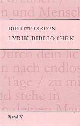 Anja Zimmermann  Die Literareon Lyrik-Bibliothek: BD 5