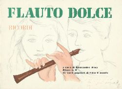 Alessandro Vinci  Flauto Dolce - Ricordi - a cura di Alessandro Vinci - Album numero 2 - 22 Canti popolari di tutto il mondo