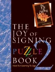 Linda Lascelle Hillebrand  Joy of Signing Puzzle Book 2
