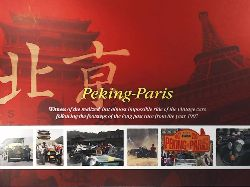 Jiri Cerny  Peking - Paris. Witness of the realized, but almost impossible ride of the vintage cars following the footsteps of the long past race from the year 1907