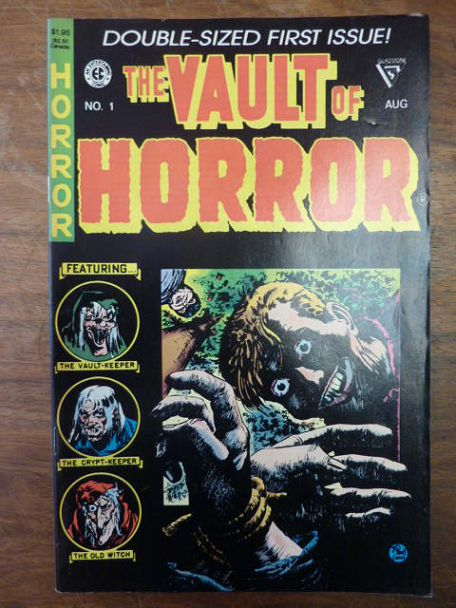 Craig, Johnny u.a.,  The Vault Of Horror No. 1 - Double-Sized First Issue! (Reprint),