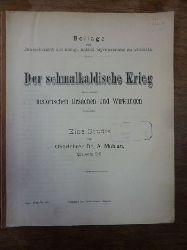 Mühlan, Alois.  Der schmalkaldische Krieg nach seinen historischen Ursachen und Wirkungen, Beilage zum Jahresbericht des Königlichen Katholischen Gymnasiums zu Gleiwitz,