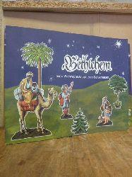Bayerisches Nationalmuseum (Hrsg.),  Bethlehem - Eine Weihnachtskrippe zum Selberbauen, Bastelmappe,