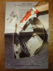 Schultz, Nora,  The Countdown Poster Magazine, Diese Publikation erscheint anlässlich der Ausstellung von Nora Schultz
