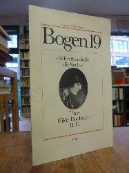 """Doolittle,Hilda / Lazarowicz, Anja,  """"Schreiben heilt die Seele"""", über Hilda Doolittle - H.D.,"""