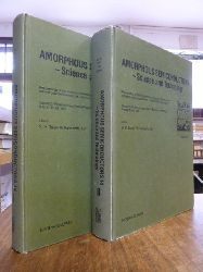 Bauer, G.H. / Fuhs, W. / Ley, L. (Editors),  Amorphous Semiconductors - Science and Technology, Part I (1) und Part II (2), 2 Bände (= alles), Proceedings of the Fourteenth International Conference on Amorphous Semiconductors - Science and Technology, ICAS 14, Garmisch-Partenkirchen, Federal Republic of Germany, August 19 - 23, 1991,