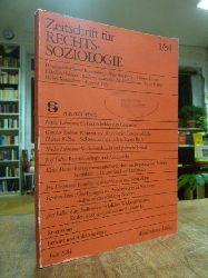 Luhmann, Niklas,  Widerstandsrecht und politische Gewalt, in: Zeitschrift für Rechtssoziologie ZfRSoz, Jahrgang 5, Heft 1, Juni 1984, S. 36-46,