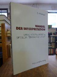 """Kafka, Franz / Andringa, Els,  Wandel der Interpretation - Kafkas """"Vor dem Gesetz"""" im Spiegel der Literaturwissenschaft,"""